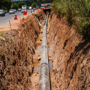 gas line installation